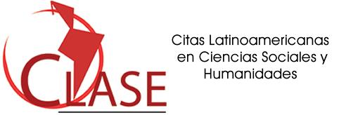 Logotipo do CLASE com link externo para exibir a página da Revista no indexador